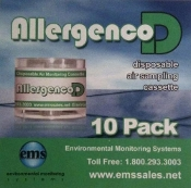 Allergenco D Mold Sampling Cassette 10 Pack