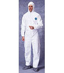 Tyvek Suits with Hood & Boots Case of 25